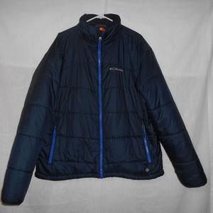 Columbia Omniheat Blue Jacket Size XXL